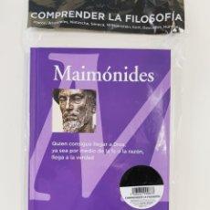 Livros: MAIMÓNIDES COLECCIÓN FILOSOFÍA - NUEVO. Lote 268266854