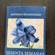 Libros: SESENTA SEMANAS EN EL TRÓPICO. (REEDICIÓN 20% MÁS BARATA QUE AMAZON)- ANTONIO ESCOHOTADO.. Lote 270984928