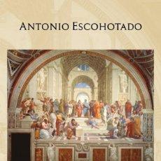 Libros: REALIDAD Y SUBSTANCIA. (REEDICIÓN 15% MÁS BARATA QUE AMAZON) - ANTONIO ESCOHOTADO.. Lote 270985388