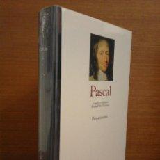 Libros: BLAISE PASCAL - PENSAMIENTOS - GREDOS 2014 - PRECINTADO. Lote 276755933
