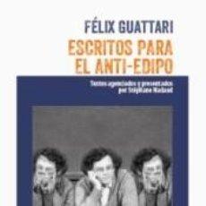 Libros: ESCRITOS PARA EL ANTI-EDIPO. Lote 277421663