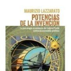 Libros: POTENCIAS DE LA INVENCIÓN. Lote 277422118