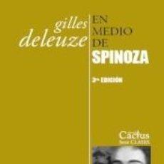 Libros: EN MEDIO DE SPINOZA. Lote 277422203