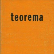Libros: TEOREMA. REVISTA DE FILOSOFÍA / VOLUMEN XIII / 1-2, AÑO 1983.. Lote 277828228
