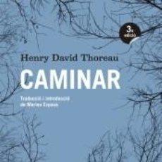 Libros: CAMINAR. Lote 279571828