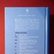 Libros: HISTORIA DE LA FILOSOFÍA I. GRECIA Y ROMA. GUILLERMO FRAILE. UNED. Lote 280124448