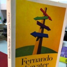 Livros: ETICA PARA AMADOR - FERNANDO SAVATER. Lote 280968098