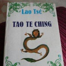 Livres: TAO TE CHING. Lote 284462343