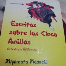Libros: ESCRITOS SOBRE LOS CINCO ANILLOS. ESTRATEGIA DEL SAMURAI. MIYAMOTO MUSASHI. Lote 287624423