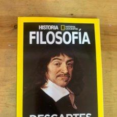 Libros: EXTRA FILOSOFÍA NATUONAL GEOGRAPHIC DESCARTES - NUEVO. Lote 288618223
