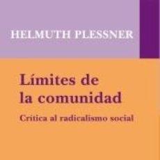 Libros: LÍMITES DE LA COMUNIDAD. Lote 296599653