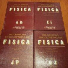 Libros: DICCIONARIO ENCICLOPEDICO DE FISICA (4 TOMOS) - A. M. PRÓJOROV - OBRA COMPLETA. Lote 54036072