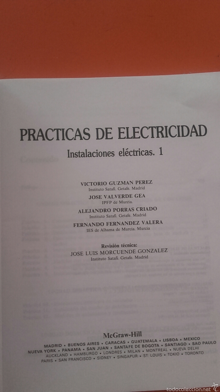 Libros: PRÁCTICAS DE ELECTRICIDAD (INSTALACIONES ELECTRIICAS I) - Foto 2 - 55129944