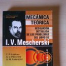 Libros: DINAMICA DEL PUNTO MATERIAL. MESCHERS KI. PROBLEMAS RESUELTOS. Lote 58422407