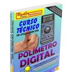 Libros: CURSO TÉCNICO POLÍMETRO MULTÍMETRO DIGITAL ¡LIBRO NUEVO! ELECTRÓNICA CIRCUITOS TRANSISTORES. Lote 94210375