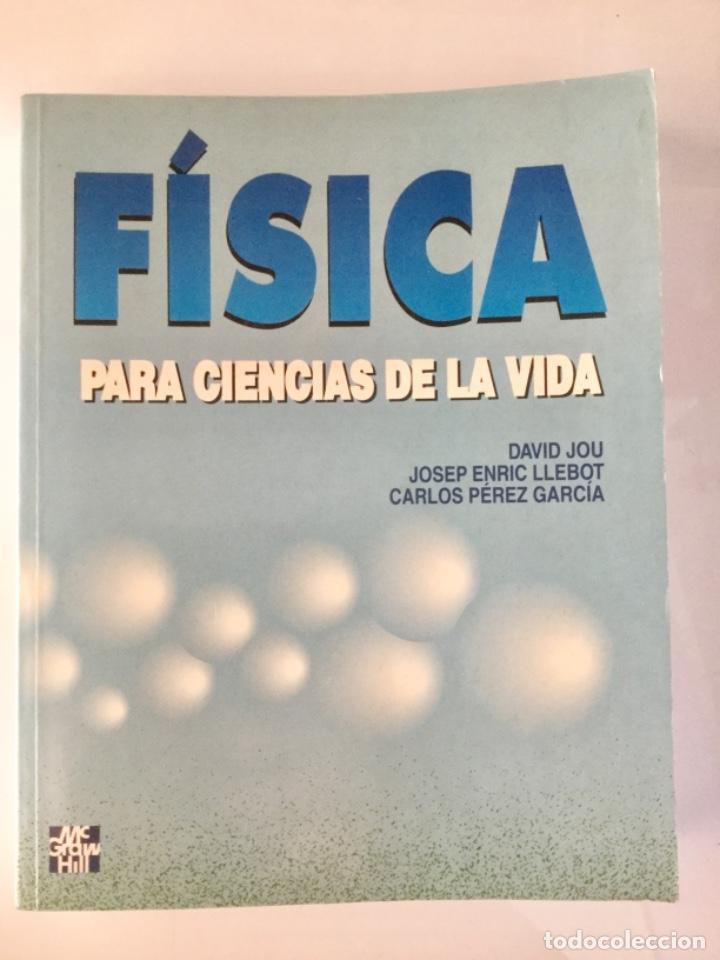FÍSICA PARA CIENCIAS DE LA VIDA. MCGRAWHILL. (Libros Nuevos - Ciencias, Manuales y Oficios - Física, Química y Matemáticas)