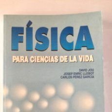 Livres: FÍSICA PARA CIENCIAS DE LA VIDA. MCGRAWHILL.. Lote 101366719