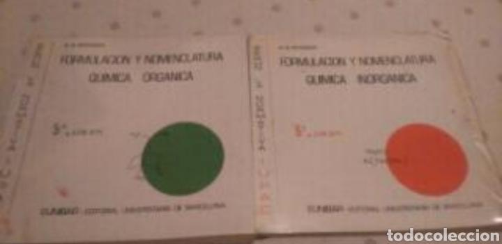 FORMULACIÓN Y NOMENCLATURA QUÍMICA ORGÁNICA E INORGANICA (Libros Nuevos - Ciencias, Manuales y Oficios - Física, Química y Matemáticas)
