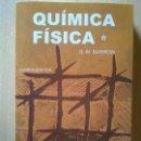 Libros: QUÍMICA FÍSICA, BARROW. Lote 117745179