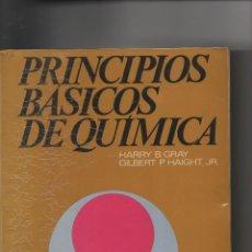 Libros: PRINCIPIOS BÁSICOS DE QUÍMICA. Lote 129264375