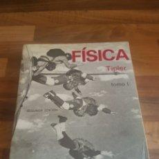 Libros: FÍSICA TIPLER TOMO 1. Lote 129638518