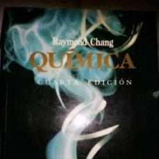 Libros: LIBRO QUÍMICA CHANG. Lote 140544278