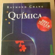 Libros: QUIMICA. (6 EDICION). RAYMOND CHANG. MCGRAWHILL. . Lote 150361394