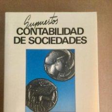Libros: SUPUESTOS DE CONTABILIDAD DE SOCIEDADES. J. RIVERO. TRIVIUM. Lote 151088530