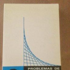Libros: PROBLEMAS DE ÁLGEBRA LINEAL. TOMO I. TEBAR FLORES.. Lote 152139230