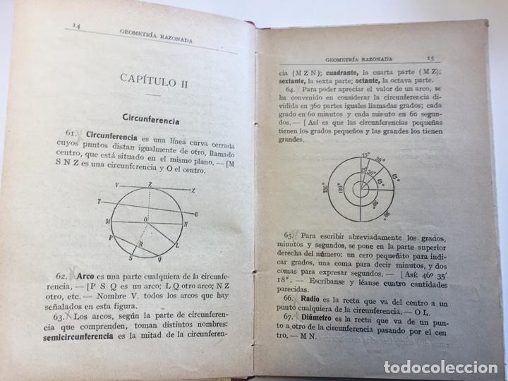 Libros: Geometria Razonada. Jaime Viñas - Foto 3 - 165067210