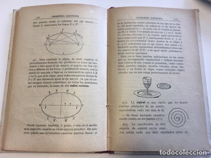 Libros: Geometria Razonada. Jaime Viñas - Foto 4 - 165067210