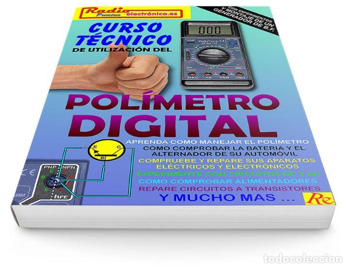 Libros: CURSO TECNICO 1 TOMO 210 pags + POLIMETRO MULTIMETRO CON CAPACIMETRO NORU NR908-136 - Foto 2 - 195907492