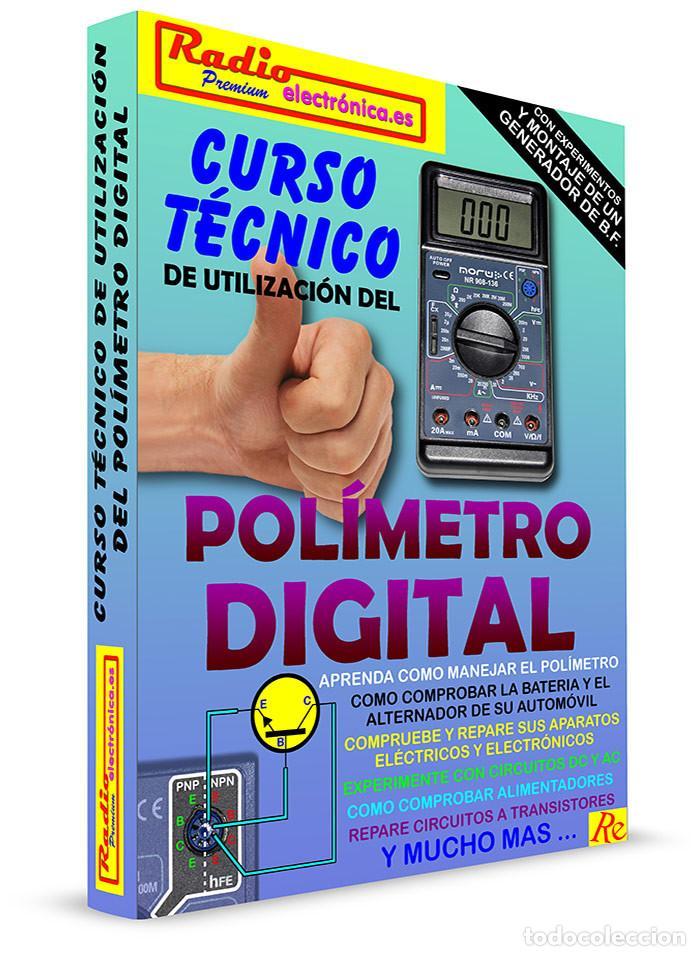 Libros: CURSO TECNICO 1 TOMO 210 pags + POLIMETRO MULTIMETRO CON CAPACIMETRO NORU NR908-136 - Foto 4 - 195907492