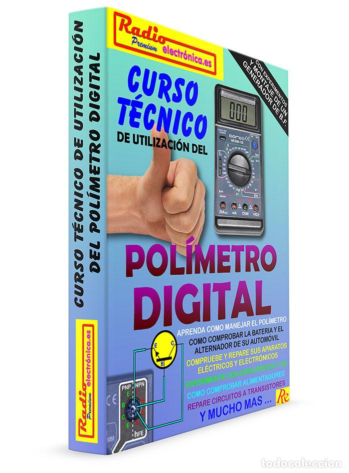 Libros: CURSO TECNICO 1 TOMO 210 pags + POLIMETRO MULTIMETRO CON CAPACIMETRO NORU NR908-136 - Foto 8 - 195907492