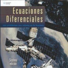 Libros: ECUACIONES DIFERENCIALES CON PROBLEMAS CON VALORES EN LA FRONTERA. ZILL-CULLEN. 7A. EDICIÓN. NUEVO.. Lote 173079614