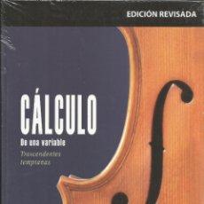 Libros: CÁLCULO DE UNA VARIABLE. TRASCENDENTES TEMPRANAS. JAMES STEWART. SEXTA EDICIÓN.. Lote 173082103
