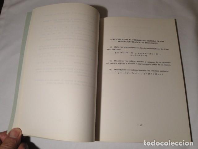 Libros: Ejercicios de Matemáticas Comerciales. Año 1969. Autor: José López Urquía. Nuevo. - Foto 3 - 176571653
