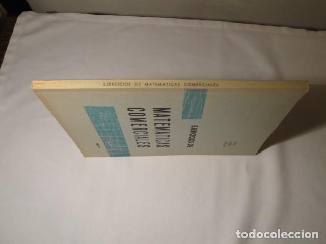 Libros: Ejercicios de Matemáticas Comerciales. Año 1969. Autor: José López Urquía. Nuevo. - Foto 7 - 176571653