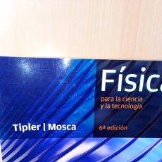 Livros: TIPLER Y MOSCA: FÍSICA (3 VOLS.). Lote 184259542