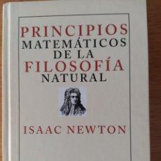 Livres: NEWTON: PHILOSOPHIÆ NATURALIS PRINCIPIA MATHEMATICA. Lote 190825828