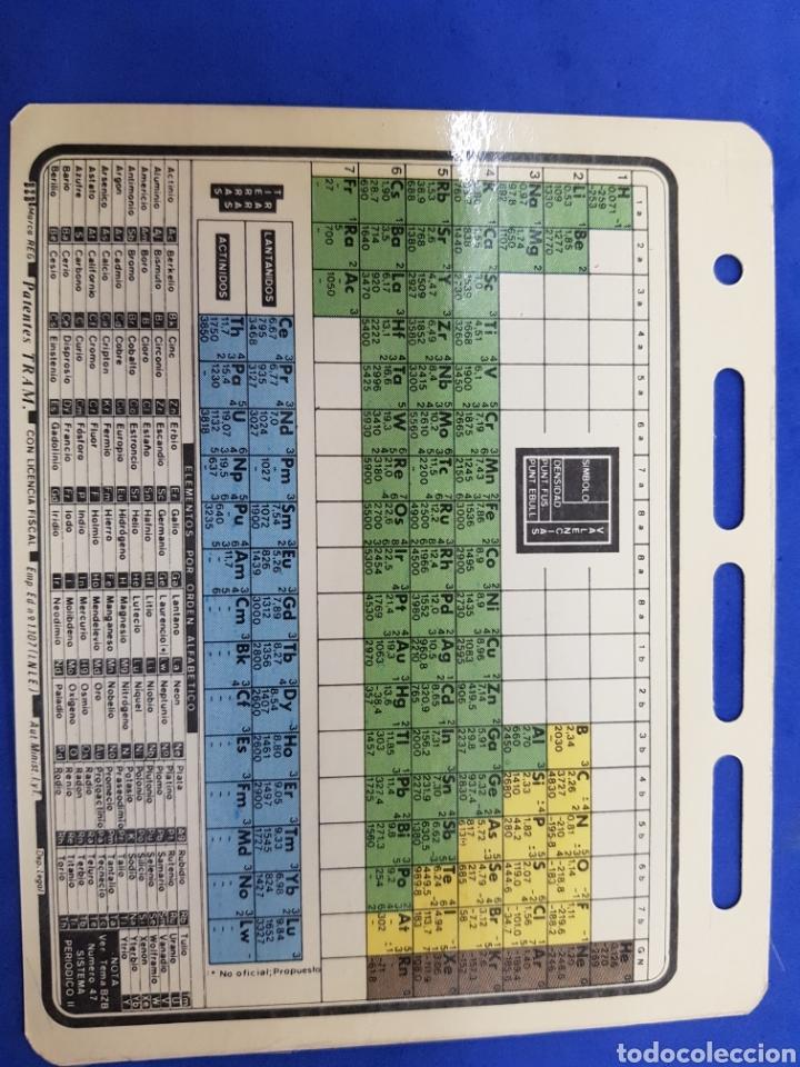 Libros: Ficha BZB n°14 , Sistema Periodico, años 1980 - Foto 2 - 191260400