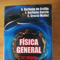Livros: BURBANO: FÍSICA GENERAL. Lote 191890437