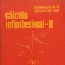Livres: CÁLCULO INFINITESIMAL II VOLUMEN 2. PIRÁMIDE. NUEVO SIN USO. Lote 191923480