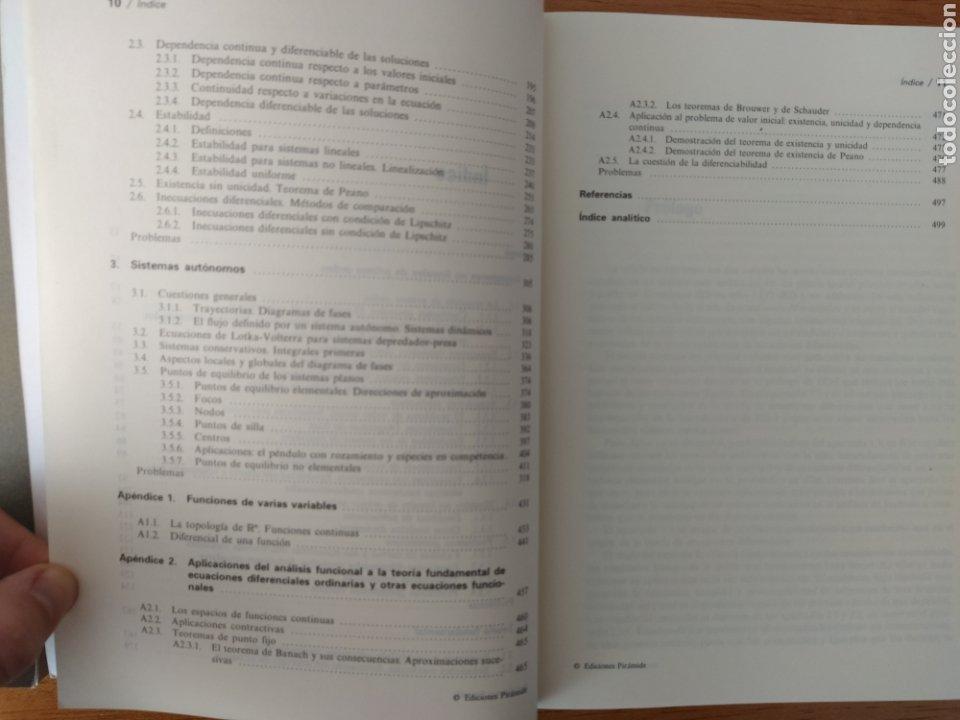 Libros: Carlos Fernández Pérez: Ecuaciones diferenciales I y II (2 Vols.) - Foto 7 - 193323971