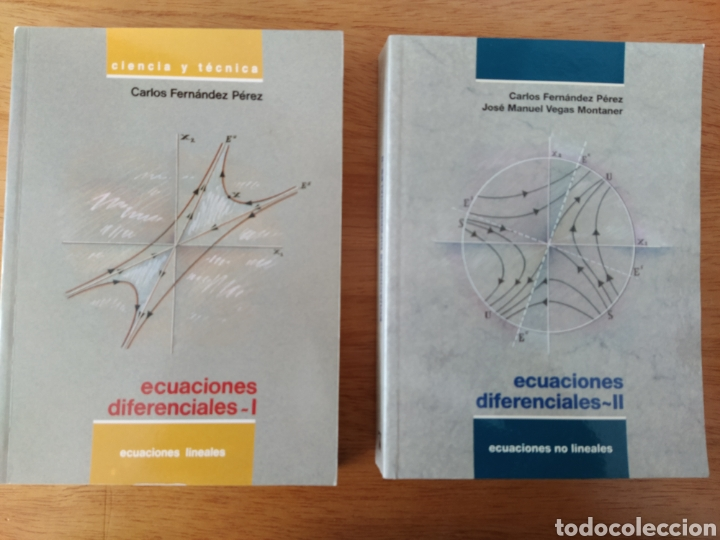 CARLOS FERNÁNDEZ PÉREZ: ECUACIONES DIFERENCIALES I Y II (2 VOLS.) (Libros Nuevos - Ciencias, Manuales y Oficios - Física, Química y Matemáticas)