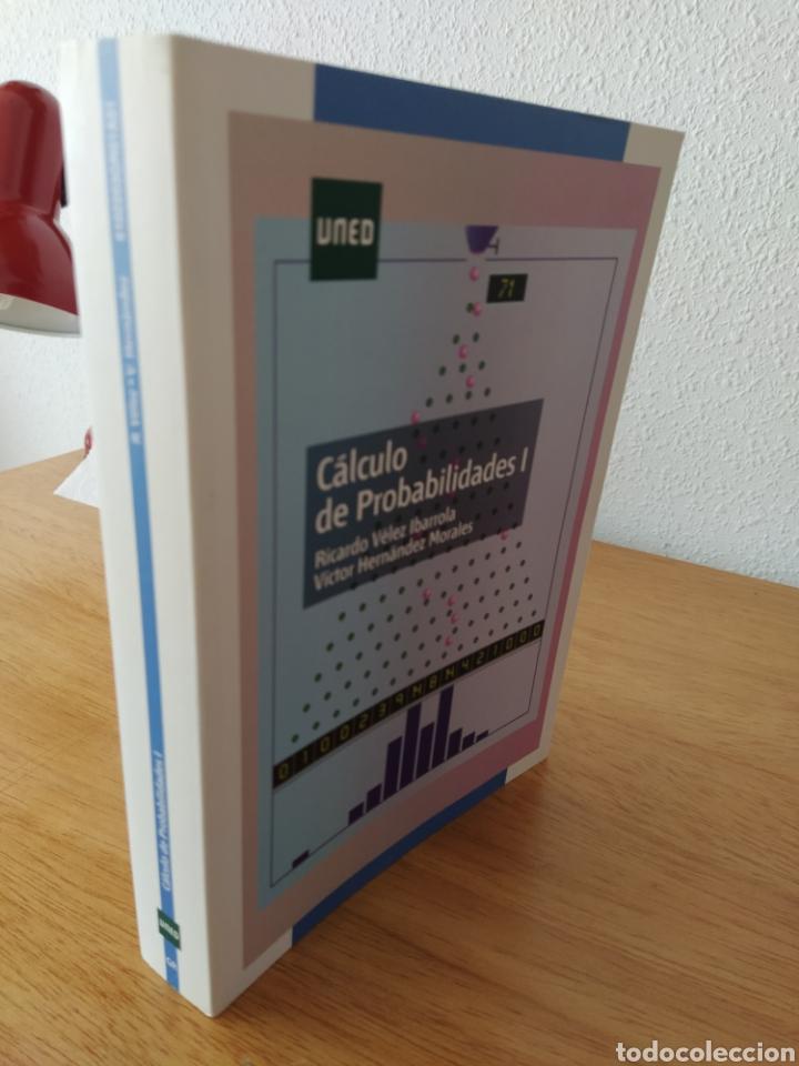 Libros: UNED-Vélez Ibarrola: Cálculo de probabilidades I - Foto 3 - 193324872