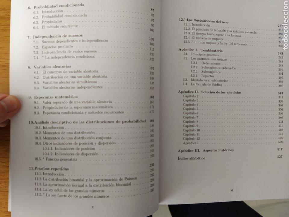 Libros: UNED-Vélez Ibarrola: Cálculo de probabilidades I - Foto 4 - 193324872