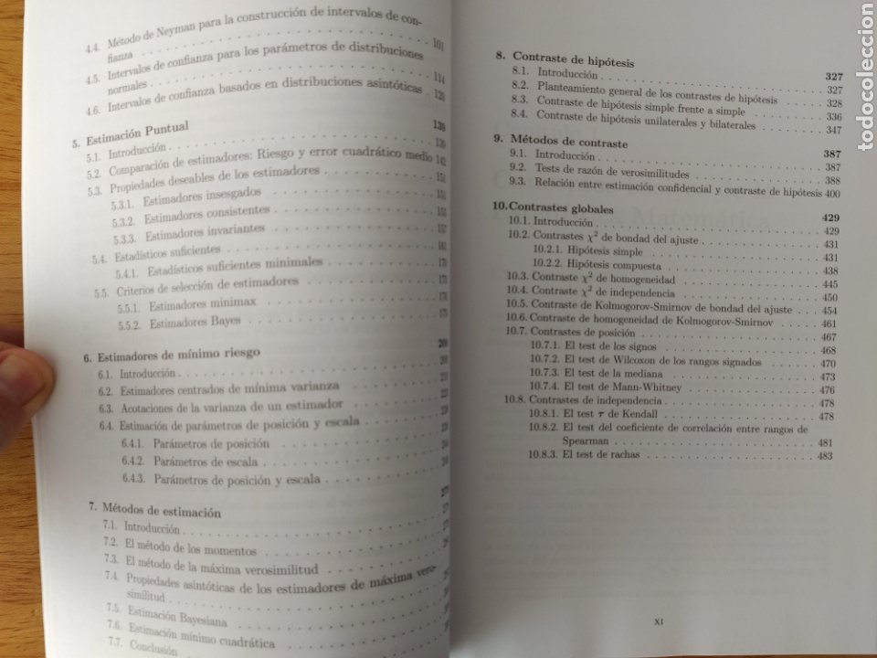 Libros: UNED-Vélez Ibarrola: Principios de Inferencia Estadística - Foto 3 - 193327105