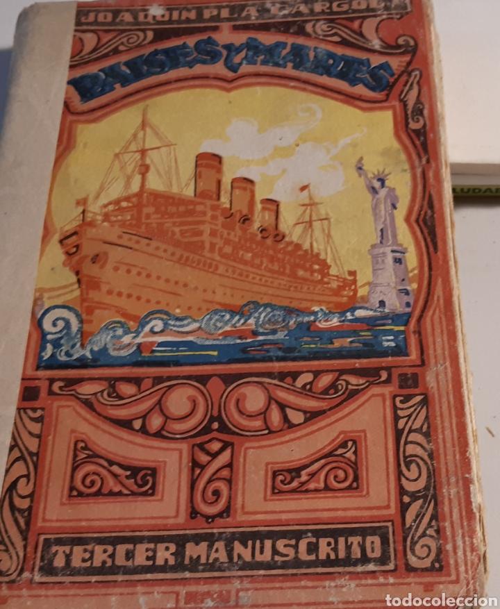 Libros: Libro Paises y Mares manuscrito - Foto 2 - 194972628