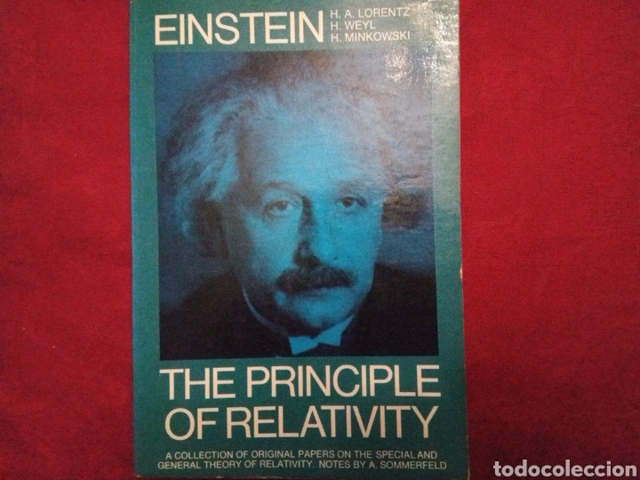 THE PRINCIPLE OF RELATIVITY. ALBERT EINSTEIN. EN INGLÉS. (Libros Nuevos - Ciencias, Manuales y Oficios - Física, Química y Matemáticas)